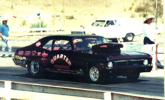 Carlsbad Raceway's UNCLE JERRY, and his QUARTER POUNDER